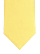 Plain Light Yellow Tie - TIE STUDIO