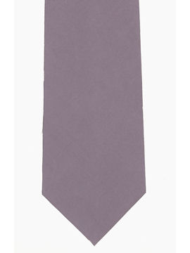 Plain Dark Grey Tie