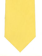 Plain Bright Yellow Tie - TIE STUDIO
