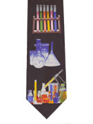 Chemistry - Colourful Test Tubes - TIE STUDIO