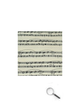 Music Manuscript White with black staves