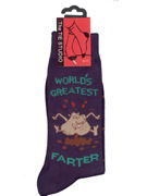 Worlds Greatest Farter Socks - TIE STUDIO